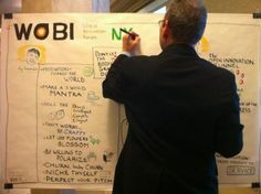 MT Graphic recording at  courtesy of the talented (reminiscent of at 
