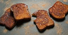 Double panfry thick slabs of white bread for the crunchiest, most caramelized cinnamon-sugar toast.