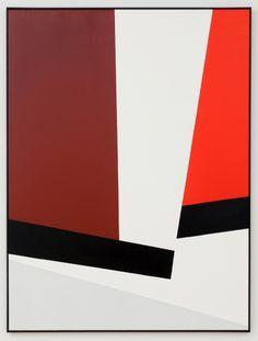 Clare E. Rojas, Maroon Red/Gray, 2012