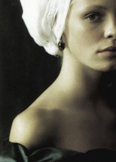 """Tanga Moreau in """"Infanta is Style"""" by Paolo Roversi for Vogue Italia September 1997"""