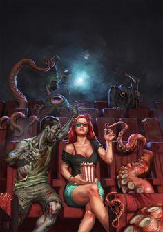 Image result for horror art