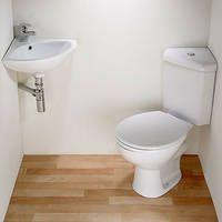 Corner Toilet Pan & Cistern & Corner Basin