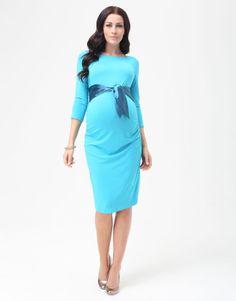 eb869b42cf1ed Dacja Azure Maternity Dress, 9 Fashion, Baby Shower Dress - $38 Spring  Maternity,