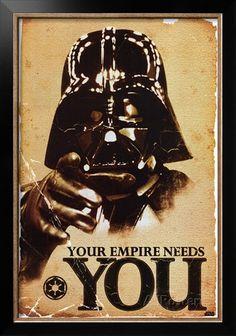 Звездные войны - Империя нуждается в вас плакаты на AllPosters.com