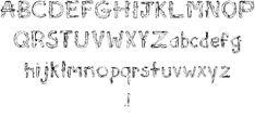 Image for Sketch Logs font