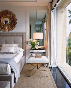Sunbiurst Mirror… South Shore Decorating Blog: A Lovely Collection of Transitional Rooms