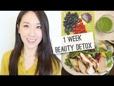 My 1 Week Beauty Detox Diet (Part 1) // 1주일간 뷰티 디톡스 다이어트! (파트 1)