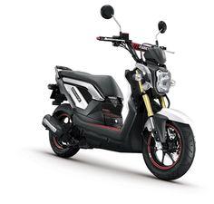2013 Honda Zoomer X White Performance