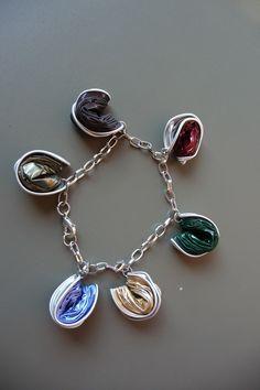 bracelet en capsules nespresso recyclées