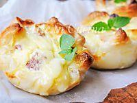 Sgonfiotti di sfoglia ai formaggi e salumi ricetta veloce | Arte in Cucina