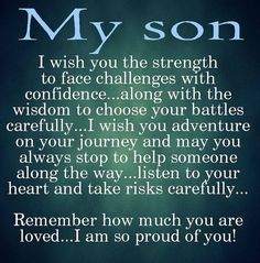 My Son Pictures, Photos, and Images for Facebook, Tumblr, Pinterest, and…