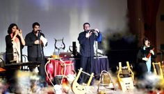 """""""LyrAvlos"""", an ancient Greek music ensemble will take you on a magnificent musical journey, as they perform a number of rare ancient songs and present 20 reconstructed ancient music instruments.  Be prepared for a mythical experience that will stay with you for the rest of your life.  #Celestyalcruises #themed #cruise #LyrAvlos #ancient #Greek #music #magnificent #musical #journey #perform #number #rare #songs #instruments #mythical #experience"""