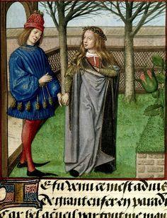 Title: Roman de la Rose. Origin: Netherlands, S. (Bruges). Date: c. 1490-c. 1500