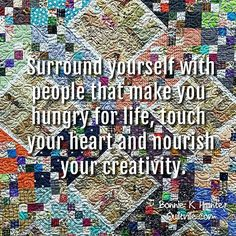 I don't get people who don't get my need to always be creating. 😁 that's likely why I like hanging around all of you! You get me. We get each other! #sandcastlesquilt . . #quilt #quilting #patchwork #quiltville #bonniekhunter #scrapquilt #stringquilt #deepthoughts #wisewords #wordsofwisdom #quiltvillequote #quote #inspiration #saturday