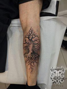 Spade shaped tree by Oktapus.