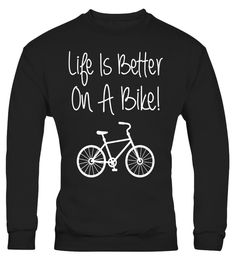 "# Life is Better on a Bike Cycling Bicycle T-Shirt .  Special Offer, not available in shops      Comes in a variety of styles and colours      Buy yours now before it is too late!      Secured payment via Visa / Mastercard / Amex / PayPal      How to place an order            Choose the model from the drop-down menu      Click on ""Buy it now""      Choose the size and the quantity      Add your delivery address and bank details      And that's it!      Tags: No gas or traffic, free parking…"