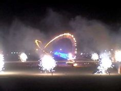 Flaming Lotus Girls fireworks display at Burning Man 2011.  Hands down, the BEST fireworks show I have ever seen!