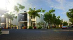 Pentium Spring Green Premium Villas-street view