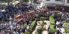 Le gouvernorat de la banlieue Damas reçoit les corps des victimes enlevés de Maloula par des terroristes du front Nosra – Agence Arabe Syrienne InformationsLES U S A ET LEURS VASSEAUX AURONT DES COMPTE A RENDRES   A LA FIN DES HOSTILITES  CREES PAR EUX POUR LA SYRIE ET LES REGIONS VOISINES