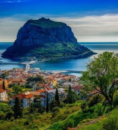 The Secret Greece is a cultural portal showcasing articles for Greece, suggesting destinations, gastronomy, history, experiences and many more. Greece in all Places To Travel, Places To See, Monemvasia Greece, Greek Town, Greek Life, Myconos, Places In Greece, Creta, Greece Islands