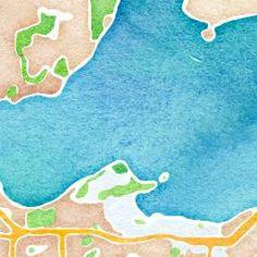 maps.stamen.com / watercolor skin for interactive map