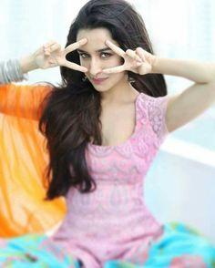 Looking for a similar Kurti with printed patiala salwar as Shraddha Kapoor is wearing Bollywood Photos, Bollywood Stars, Bollywood Fashion, Bollywood Actress, Bollywood Celebrities, Shraddha Kapoor Baaghi, Sonakshi Sinha Saree, Deepika Padukone, Sraddha Kapoor