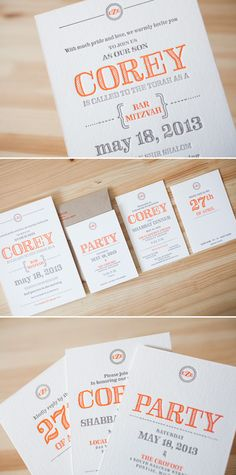 Outoftheboxny even more bar mitzvah invitations bat mitzvah custom rustic bar mitzvah invitations letterpress printed by bella figura solutioingenieria Choice Image