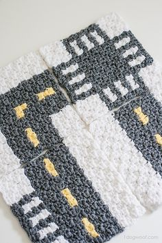 Ravelry: CityStreets Mapghan Squares pattern by ChiWei Ranck