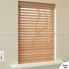 Label 65® Bamboe Jaloezie 50 mm Blinds, Curtains, House, Home Decor, Decoration Home, Home, Room Decor, Shades Blinds, Blind