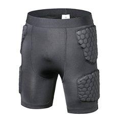 ee609f12d6 TY Men's Protective Hip Pad Padded Shorts Skiing Skating Snowboarding  Impact Protection Sports Pants (L