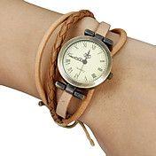 Reloj de las mujeres Vintage dial redondo tre... – USD $ 3.95