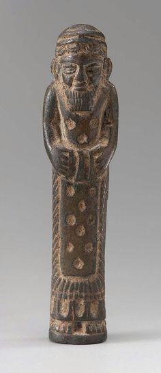 Votive figure Near Eastern, Anatolian, Neo-Hittite, Iron Age, Early first millennium B.C. Anatolia, Turkey (MFA)
