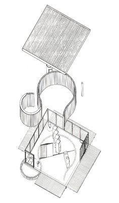 Shigeru Ban et Design éco-durable.  Paper House.