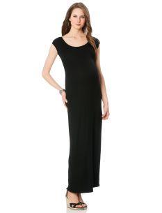 A Pea in the Pod Short Sleeve Maternity Maxi Dress