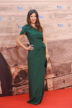 Vestidos verdes de fiesta #bodas #vestidos #invitadas