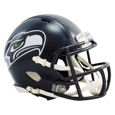 look at this seattle seahawks speed mini helmet dcor by riddell