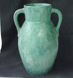 Vintage Roseville Pottery Carnelian II Arts & by ourtimecapsule, $350.00