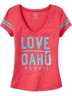 Love Oahu! Got this shirt for Spring Break:)