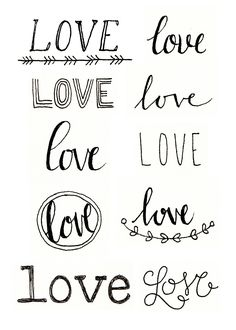 Megan Wells - Love Doodles #love By makewells