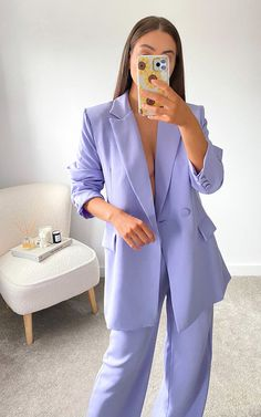 Prom Outfits, Office Outfits, Formal Outfits, Formal Suits For Women, Women In Suits, Homecoming Suits, Prom Suit, Fancy Suit, Foto Casual