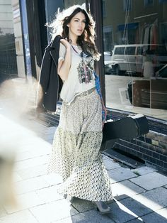 Folk Skirt 03/2013 #123 – Sewing Patterns | BurdaStyle.com