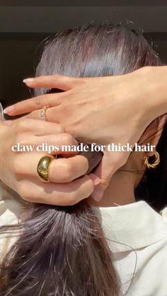 Hair Tips Video, Hair Videos, Long Hair Video, Bun Hairstyles For Long Hair, Hair Styler, Aesthetic Hair, Dream Hair, Hair Looks, Hair Inspiration