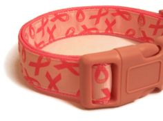 Hey, I found this really awesome Etsy listing at http://www.etsy.com/listing/120339810/dog-collar-breast-cancer-awareness