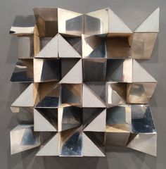 Metal sculpture at Art Basel Miami 2015