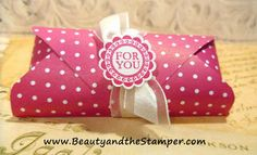 Beauty and the Stamper - Jean Piersanti - Independent Stampin' Up! Demonstrator: Treat Holder | Stampin' Up! Envelope Punch Board