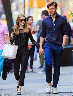 d5943b3c19e4 Olivia Palermo and Johannes Huebl  A Style Tribute to the Gorgeous  Newlyweds - April 2014