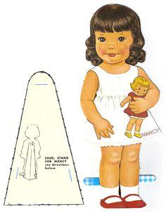 Paper Dolls~Two Little Girls - Bonnie Jones - Picasa Web Albums