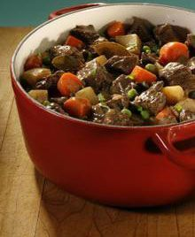 Authentic Amish Beef and Noodle Oven Stew, ,