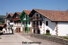 Caserios de Arizkun. Navarra. © Inaki Caperochipi Photography #navarra #baztan