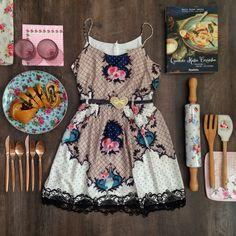 vestido antix camafeu